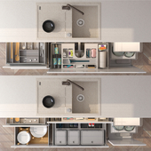Drawers and their filling 2