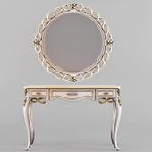 Стол и зеркало Forever фабрики Signorini & Coco