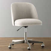 ALESSA UPHOLSTERED DESK CHAIR