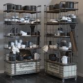 RH CIRCA 1900 and kitchen set