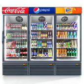 Refrigerator Coca-cola