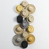 Decorative set of hats