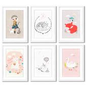 Постеры для оформления детской комнаты для девочки.