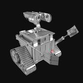 Silver Wall-E