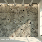 Concrete wall (old concrete) 9