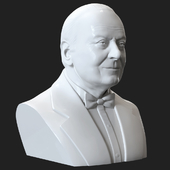 Bust of Heydar Aliyev