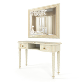Dressing table and Mirror Siena Avorio