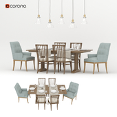 Set for dining room