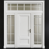 Entrance doors modern classic