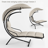 Dream chair swinging outdoor lounger Version 2