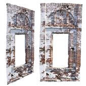 Brick window opening