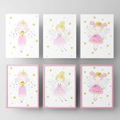 Постеры для детской девочки-феи 2