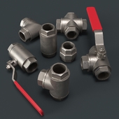 Fittings for water and gas pipelines