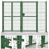 Fencing system (3d panels)