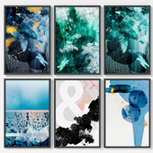 Set of 6 Abstract