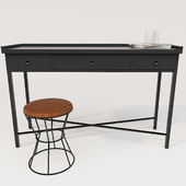 Maisons du monde Edison Table and Walter Chair