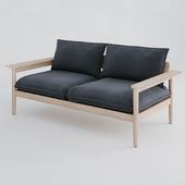 DWR Terassi Two-Seater Sofa / Двухместный диван