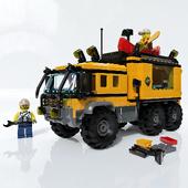 LEGO City. Mobile laboratory in the jungle.