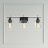 Street luminaire Marina 3-Light Vanity Light