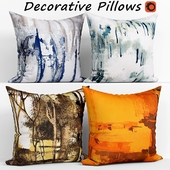 Decorative pillows set 129