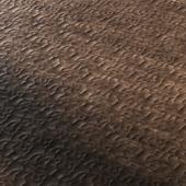carved wooden floor