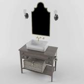Vintage Bathroom set