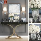 Crystal Vase Decoration set 05
