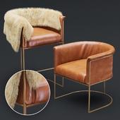Wexler Barrel Back -armchair & bar stool-set02