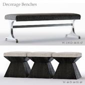 Bernhardt Decorage Bench