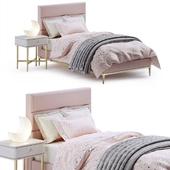 RH Pfeiffer velvet bed