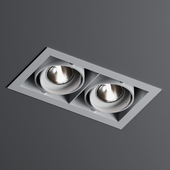 Ceiling lamp MINIGRID IN 2 50 Delta Light