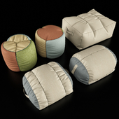 Collection of pouffes / Collection of Pouf