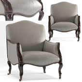 Bergere chair by Darryl Carter by Baker furniture