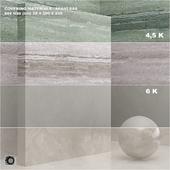 Материал (бесшовный) - покрытие, мрамор, штукатурка set 47