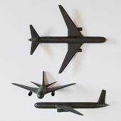 Potteryarn - Cast Plane Set
