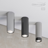 Ceiling surface lighting fixture ODEON LIGHT 3578 / 1C, 3579 / 1C MELARDA, 3580 / 9CL LEDROX