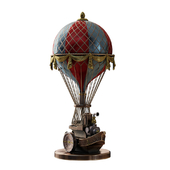 "Sculpture in the style of Steampunk ""Balloon"""
