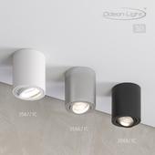 Ceiling surface lighting fixture ODEON LIGHT 3566 / 1C, 3567 / 1C, 3568 / 1C TUBORINO