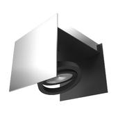 39315 LED ceiling light VIDAGO, 1x5,4W (LED), white / black
