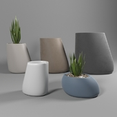 Vondom Stones flower pots