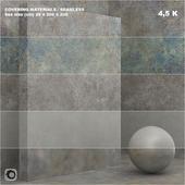 Материал (бесшовный) - покрытие, камень, штукатурка set 48