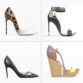 Set of women shoes