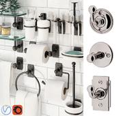 Аксессуары для ванной Nanzaquatic. Коллекции: Baluster, Functional, Art Deco.