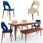 Table chair set_4