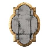 Uttermost andorra gold mirror