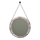 Uttermost loughlin lightly stained wood mirror