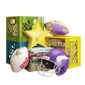crate&barrel декоративный набор для детской 001
