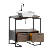 Cabinet with a sink in the bath MOBO ARIYA
