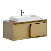 Cabinet with a sink in the bath MOBO BARNO