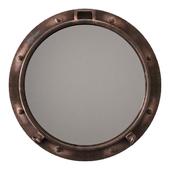 Cyan design porto rustic bronze mirror